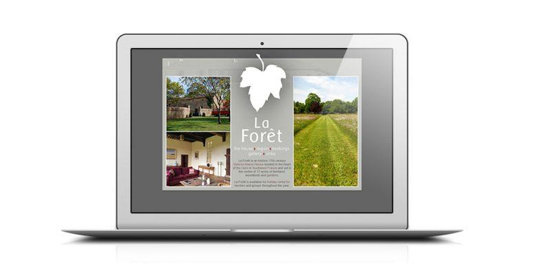 La Foret web design