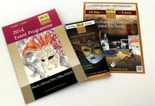 Art Festival brochures and posters