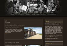 Chamber Music Festival Website