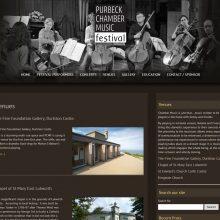Chamber Music Festival Website