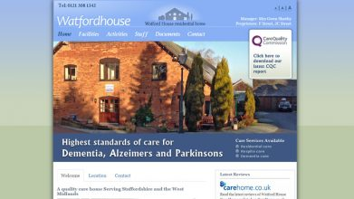 Watford House web design
