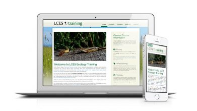 Ecological Training Company Website