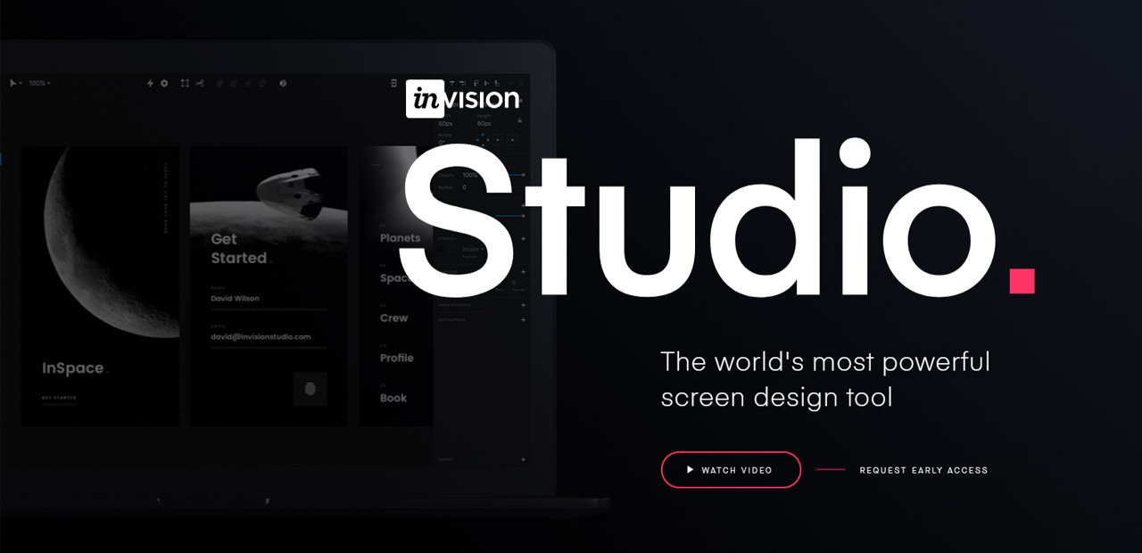 invision html5 animation screen grab