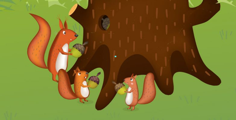 Squirrel Character Animation